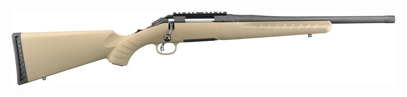"NEW Ruger American Ranch Rifle .223/5.56mm FDE 16"" Threaded brl"