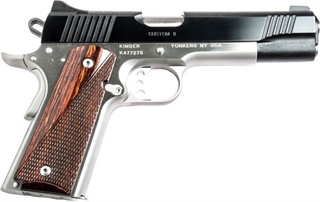 Kimber .45acp Custom II two-tone