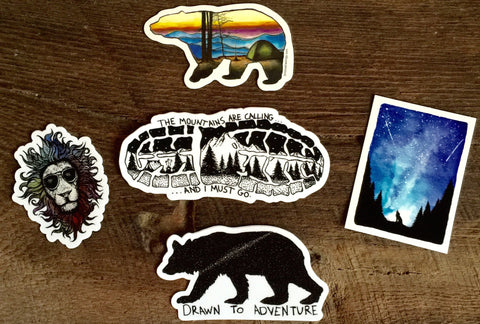 Stickers & Patches!