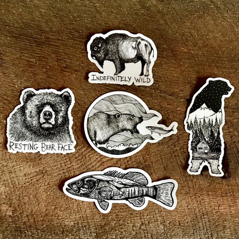 Indefinitely Wild Sticker Pack