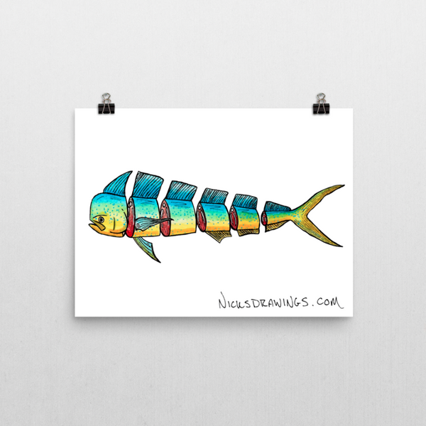 Fresh Catch Fine Art Print