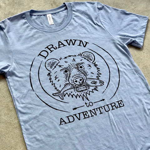Drawn to Adventure Tee