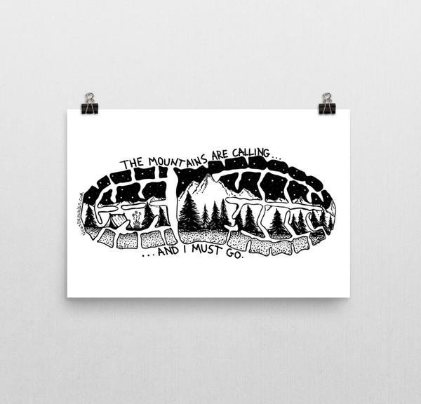 Mountains Calling Print