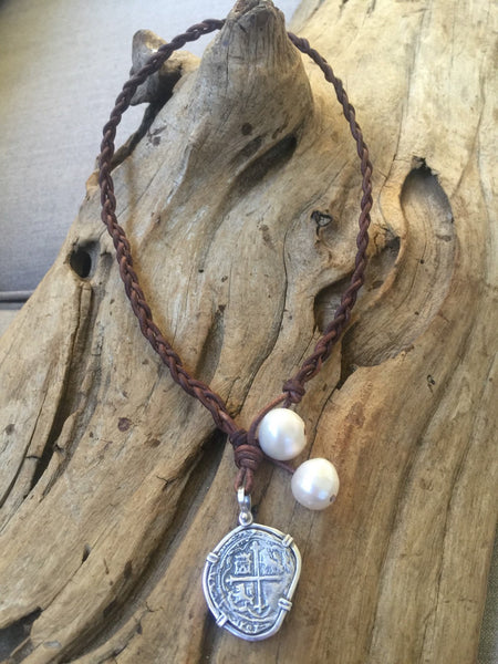 Shipwreck Coin and Pearls