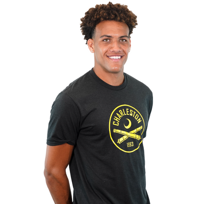 2020 Men's Black Heathered T-Shirt
