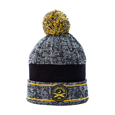 2020 Pom Beanie With Patch Logo
