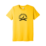 2020 Men's Yellow Lightweight T-Shirt