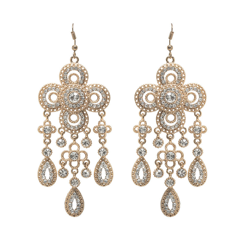 Gia chandelier earrings david tutera embellish gia chandelier earrings aloadofball Images