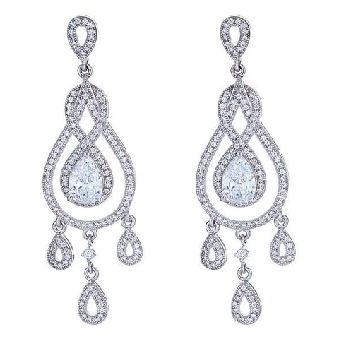 Claire Chandelier Earrings