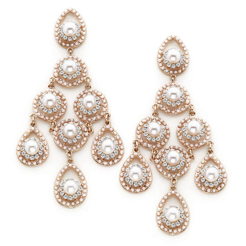 Beatrice Chandelier Earrings