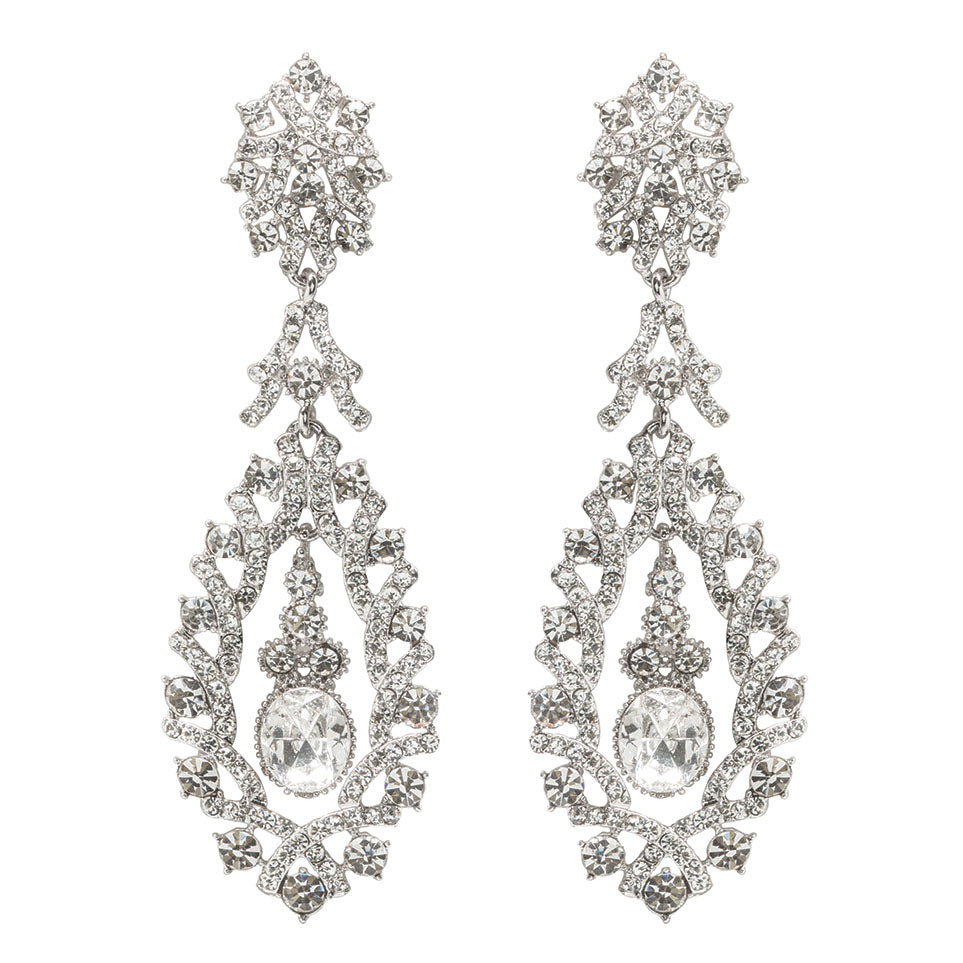 Cheryl Earrings - White