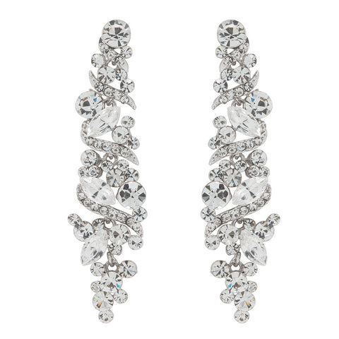 Paris Earrings - White