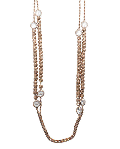 Josephine Beaded Station Necklace