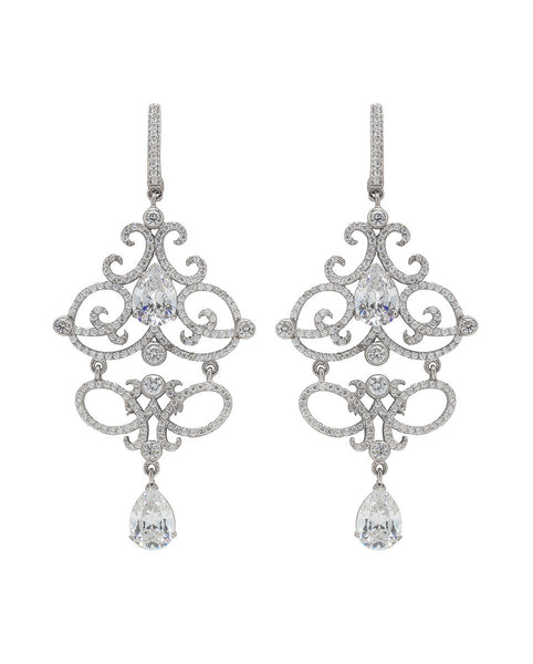Josephine Scroll Earrings