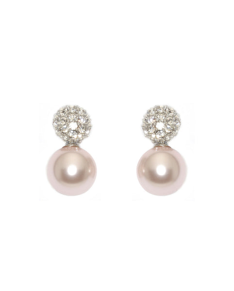 Sydney Crystal Ball Earrings