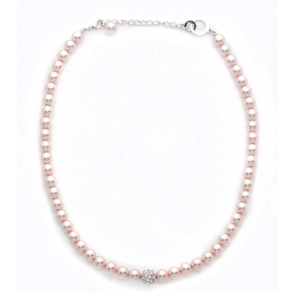 Sydney Crystal Ball Necklace