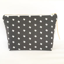 texas print cosmetic pouch