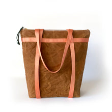 waxed canvas totepack: convertible tote/backpack