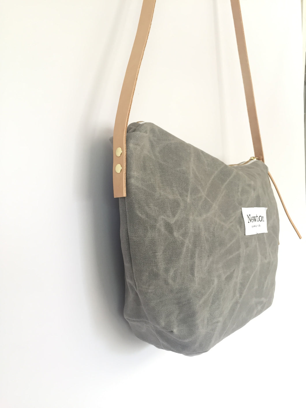 a2e40c243015 waxed canvas crossbody bag
