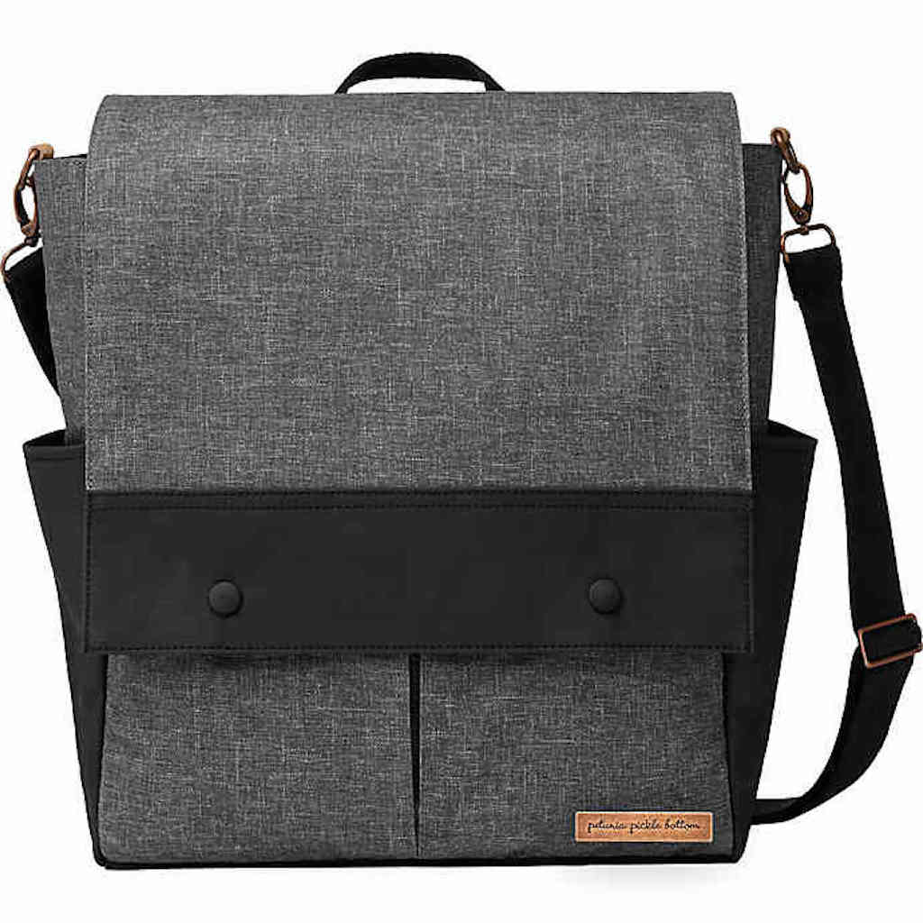 Petunia Pickle Bottom Pathway Pack - Graphite/Black - www.alongcamebaby.ca