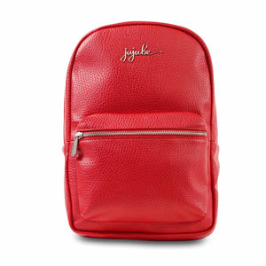 JuJuBe Mini Backpack - Red - Ever Collection - www.alongcamebaby.ca