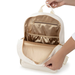 JuJuBe Midi Backpack - Linen - Chromatics 3.0 Collection **Launch January 19 @ 12PM EST**