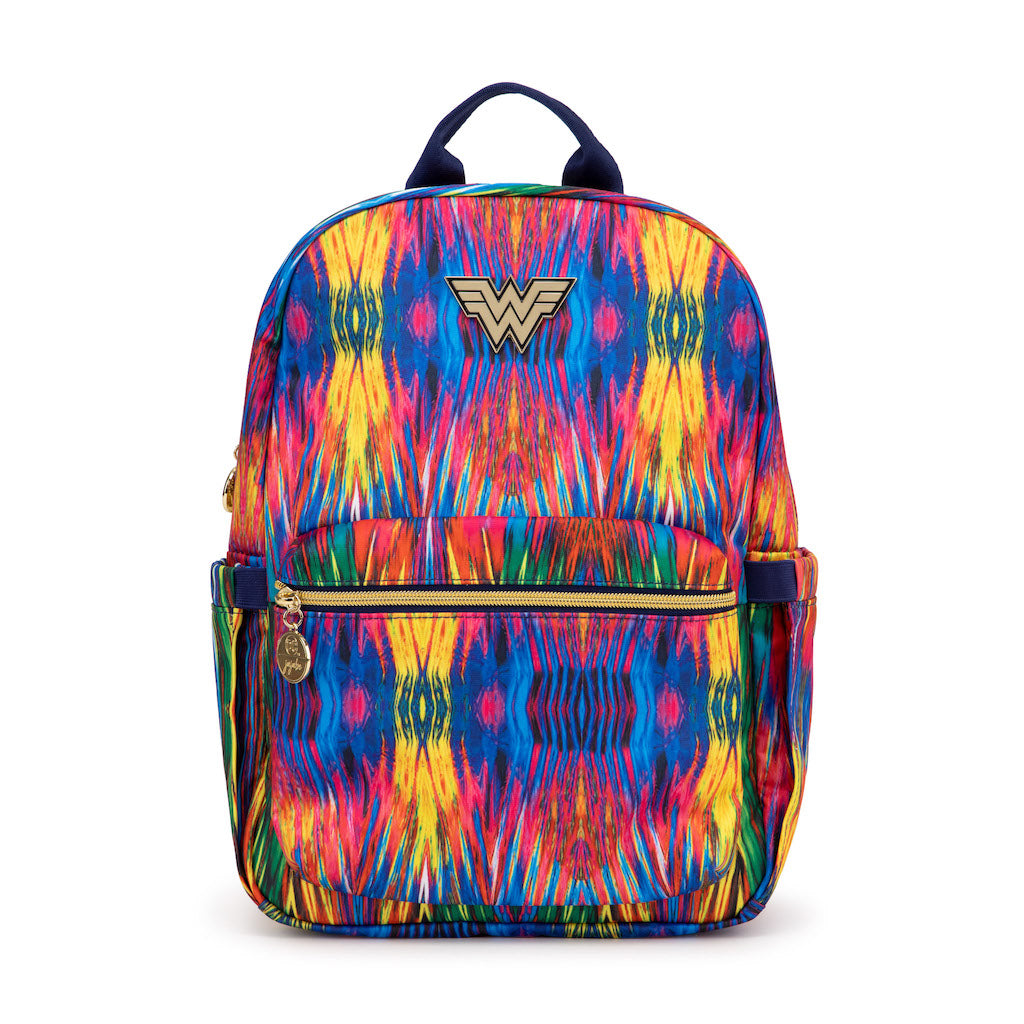 JuJuBe Midi Backpack - Wonder Woman - Warner Brothers Collaboration - www.alongcamebaby.ca