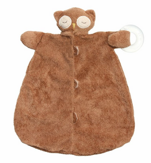 Angel Dear - Teether Blankie - Brown Owl