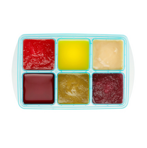 Innobaby - Preppin' Smart EZ Pop freezer tray with lid – 2 pack Jumbo/Aqua