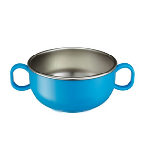Innobaby - Din Din Smart Stainless Starter Bowl - Blue
