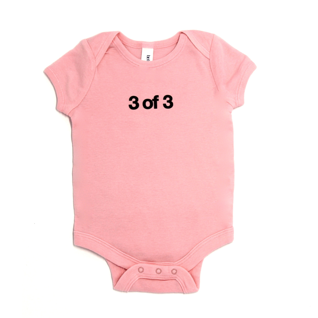 Snugfits - Triplets Onesie - 3 Colours - 3 of 3 - Along Came Baby, Ltd - 1