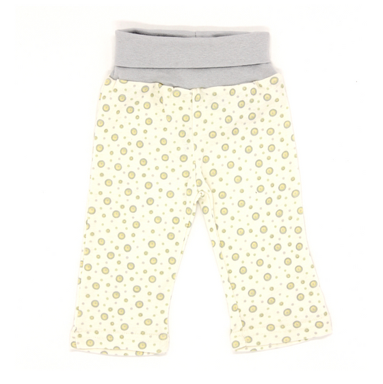 Under the Nile - Organic Cotton Blue Polka Dot Pants - Along Came Baby, Ltd - 2