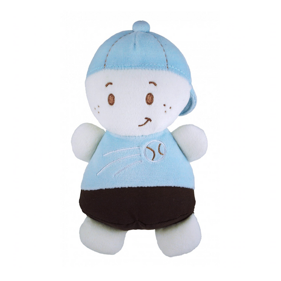 Dandelion - Blue Plush Doll - Boy - Along Came Baby, Ltd