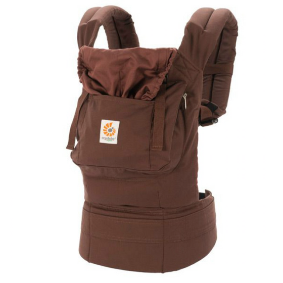 Ergobaby - Organic Carrier - Dark Chocolate-Kona - Along Came Baby, Ltd - 1