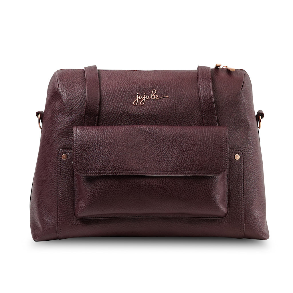 Ju-Ju-Be - Wherever Weekender - Ever Collection - Rose Gold - Plum