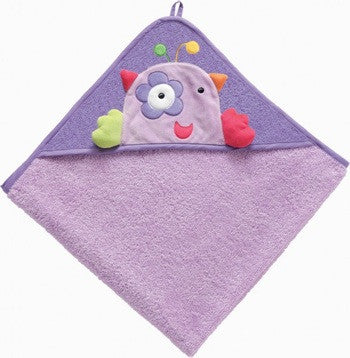 Baby Fehn - Hooded Towel - Purple Dream - Along Came Baby, Ltd - 1