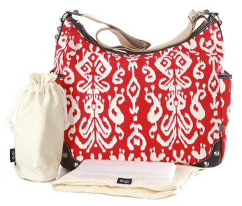 OiOi - Red Ikat Hobo - Along Came Baby, Ltd