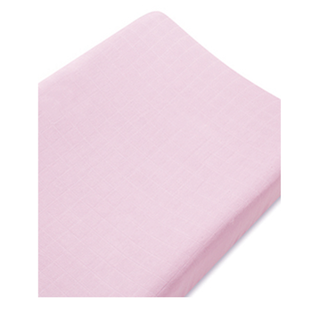 aden + anais - BAMBOO - Changing Pad Cover - Solid Rose - Along Came Baby, Ltd