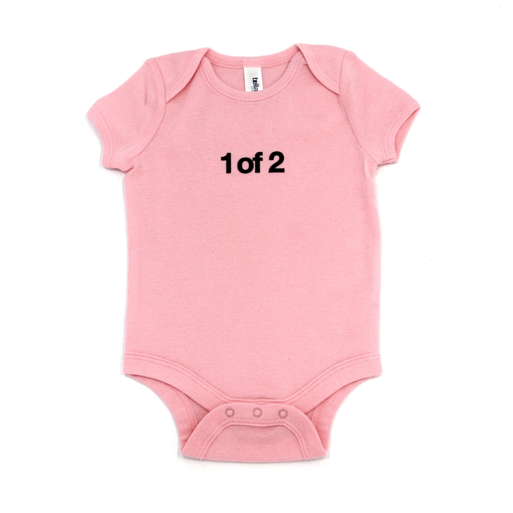 Snugfits - Twins Onesie - 3 Colours - 1 of 2 - Along Came Baby, Ltd - 1