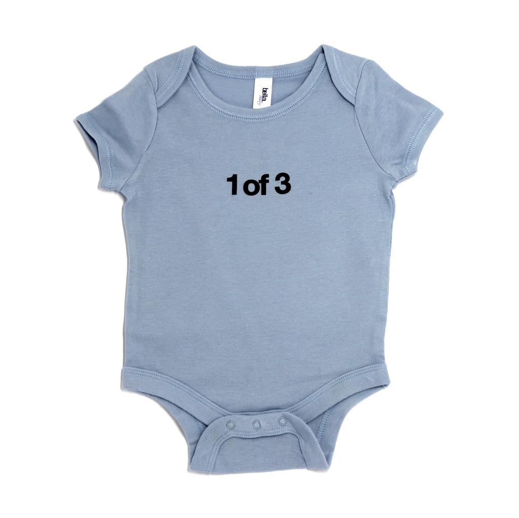 Snugfits - Triplets Onesie - 3 Colours - 1 of 3 - Along Came Baby, Ltd - 3