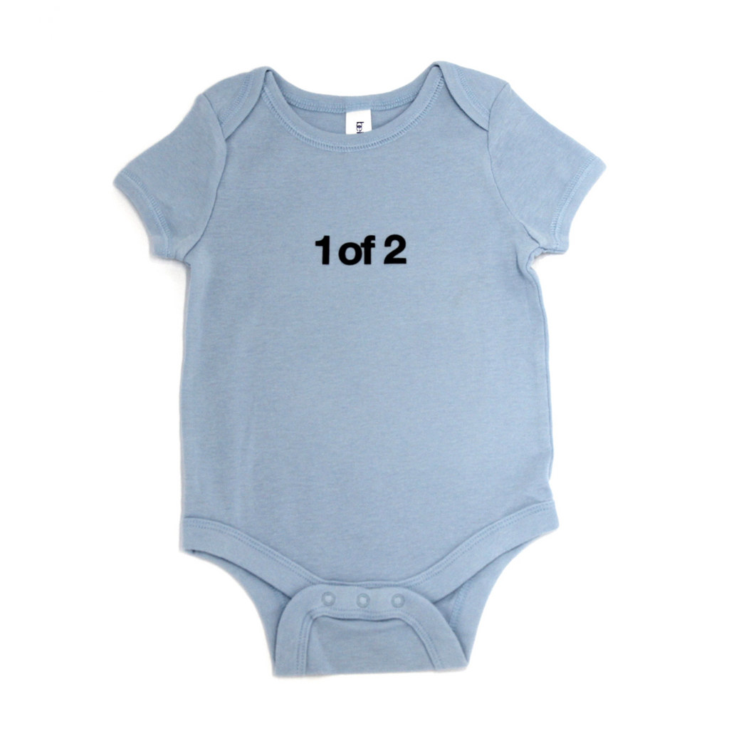 Snugfits - Twins Onesie - 3 Colours - 1 of 2 - Along Came Baby, Ltd - 3