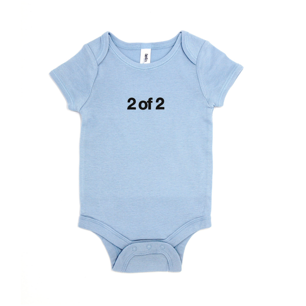Snugfits - Twins Onesie - 3 Colours - 2 of 2 - Along Came Baby, Ltd - 1