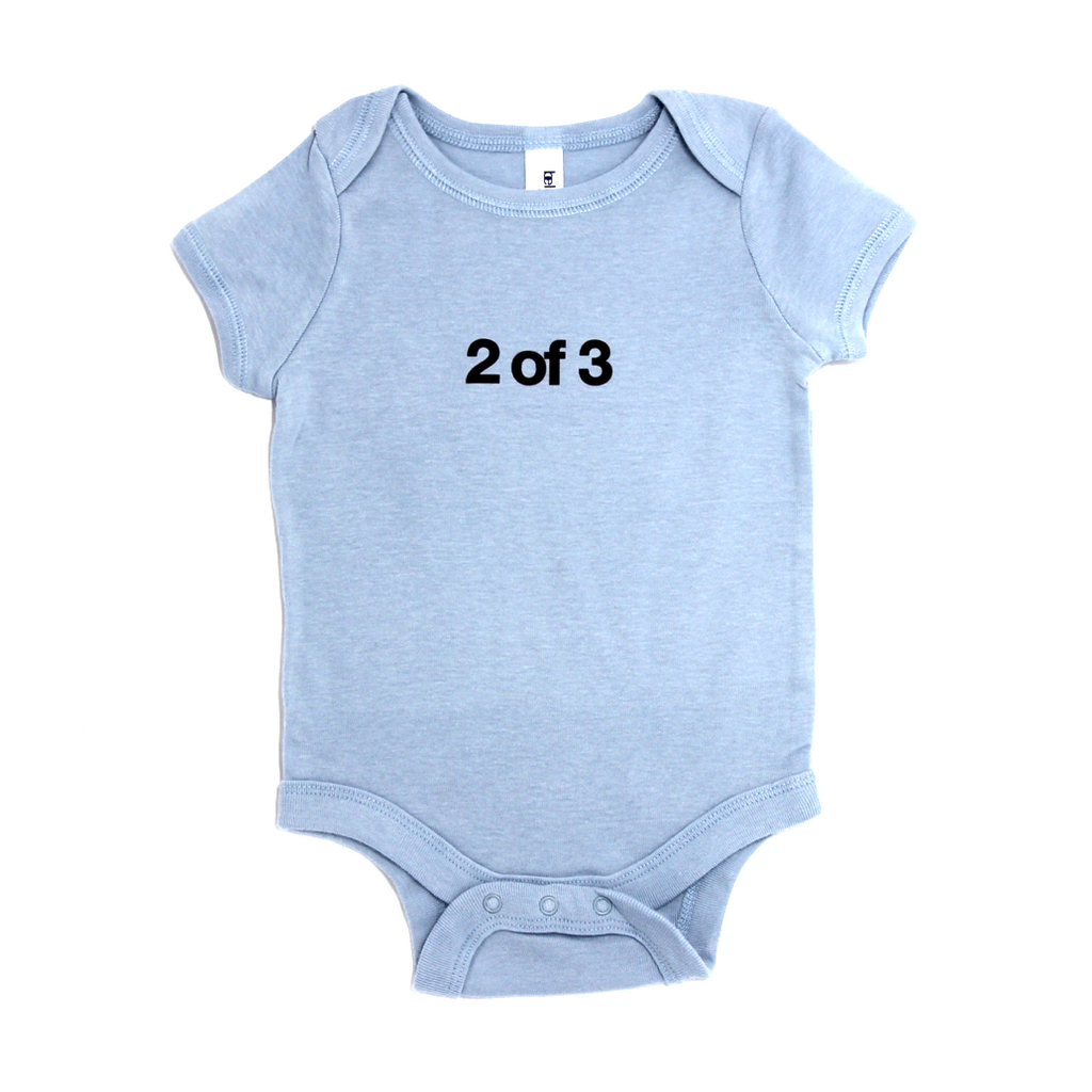 Snugfits - Triplets Onesie - 3 Colours - 2 of 3 - Along Came Baby, Ltd - 1