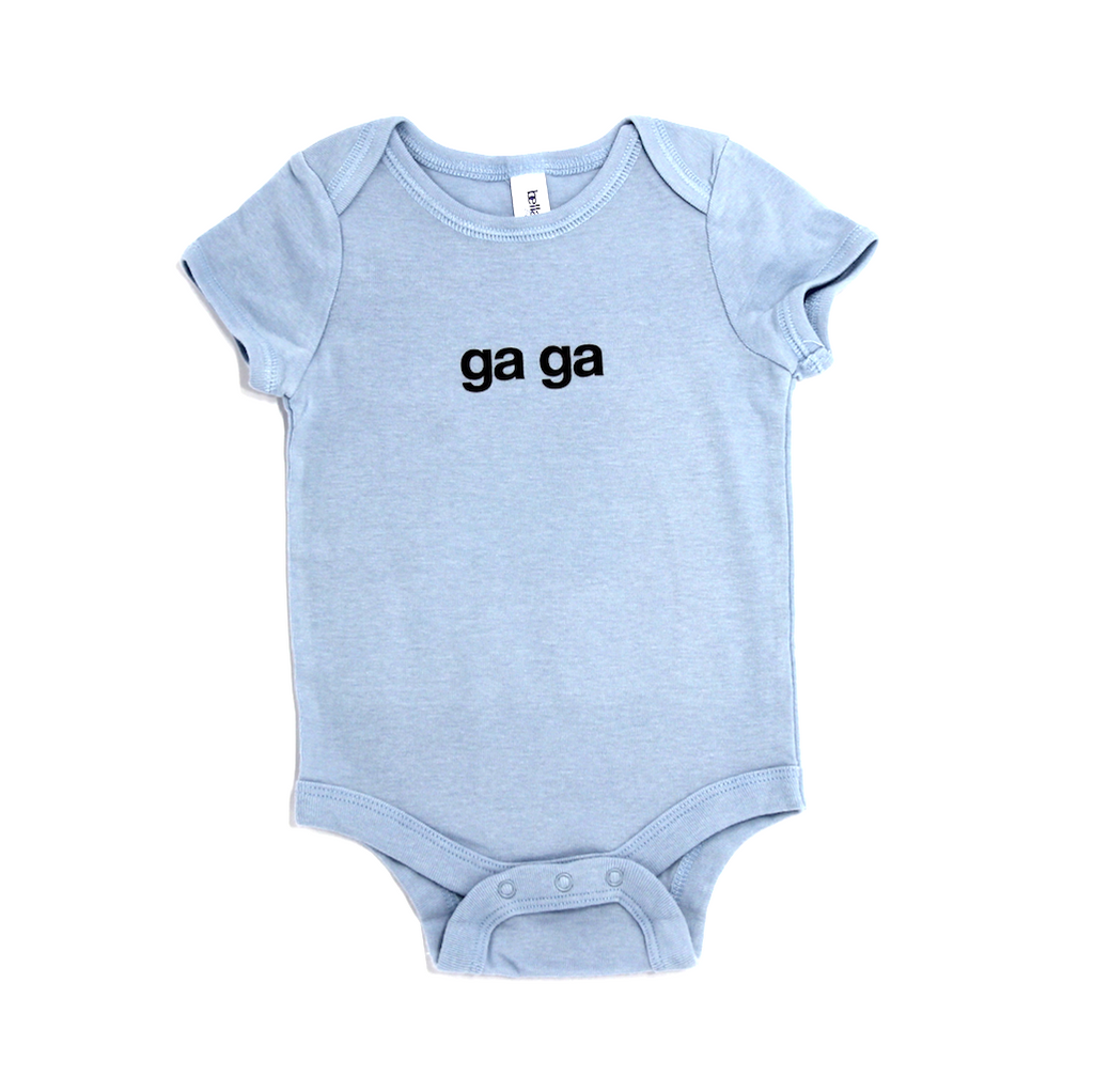 Snugfits - Twins Onesie  - 3 Colours - Ga Ga - Along Came Baby, Ltd - 3