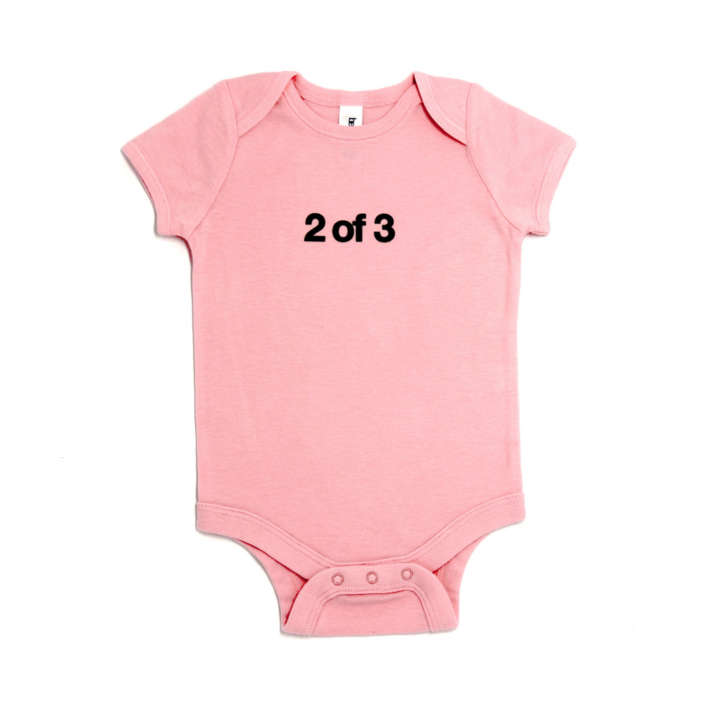 Snugfits - Triplets Onesie - 3 Colours - 2 of 3 - Along Came Baby, Ltd - 2