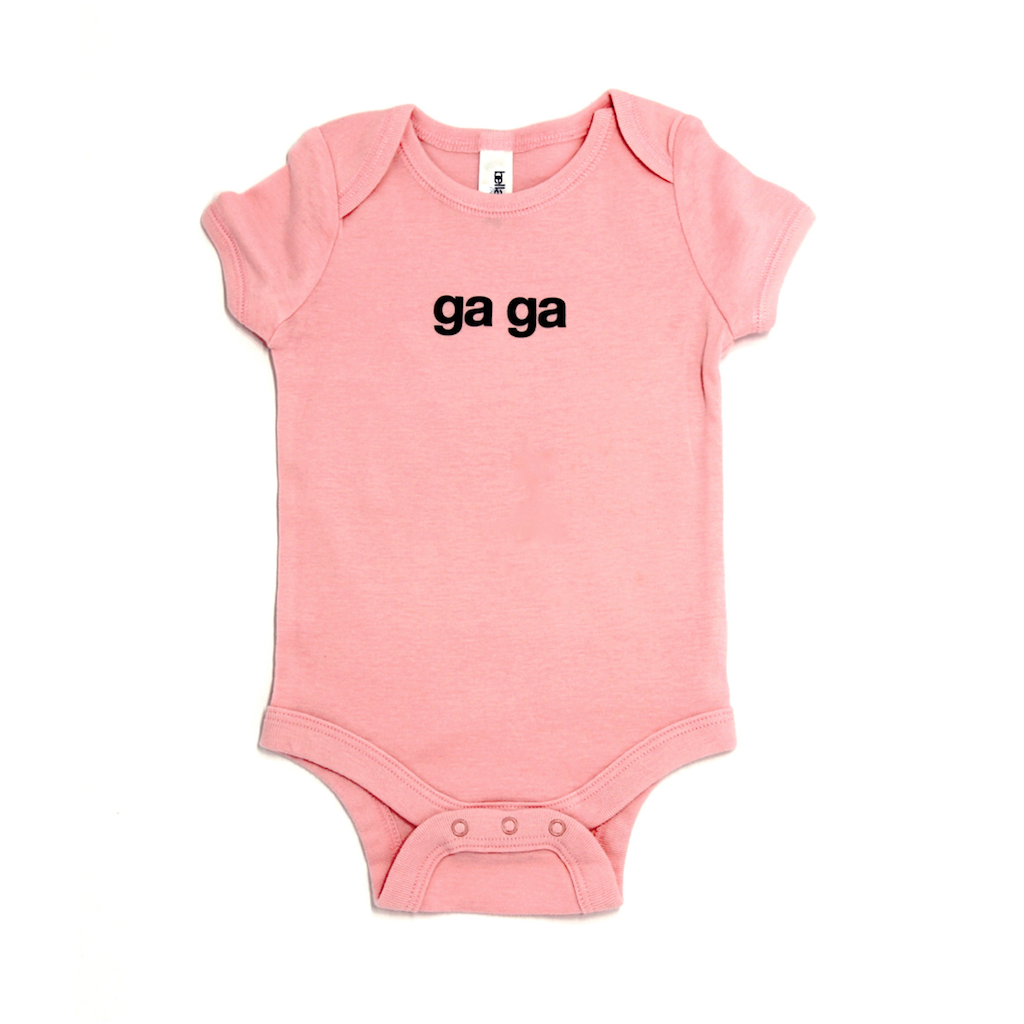 Snugfits - Twins Onesie  - 3 Colours - Ga Ga - Along Came Baby, Ltd - 2