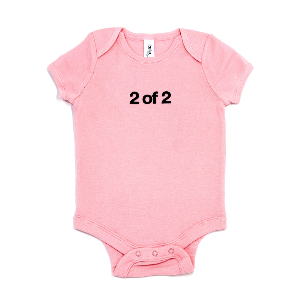 Snugfits - Twins Onesie - 3 Colours - 2 of 2 - Along Came Baby, Ltd - 2