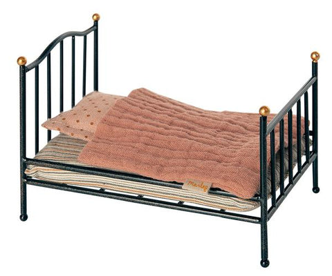 Micro Vintage Bed- Anthracite