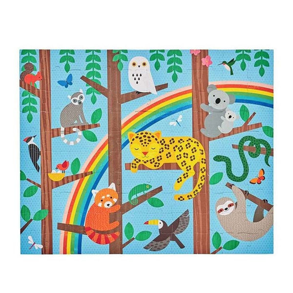 Two-Sided On The Go Puzzle - Animal Menagerie