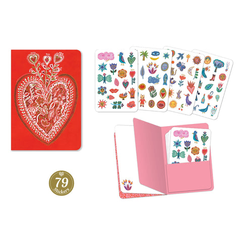 Aurelia Notebook and Stickers